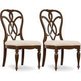 """Hooker Furniture 5381-75310-2PK Leesburg Set of (2) 20"""" Wide Traditional Splat Back Side Dining"""