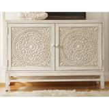 Hooker Furniture 638-85074 54-1/4 Inch Wide Poplar Wood Cabinet from the Melange - Matisette