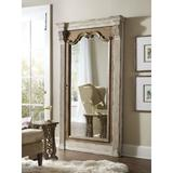 """Hooker Furniture 5351-50003 Chatelet Oversized 84"""" Tall Rustic Farmhouse Leaning Floor Mirror w/"""