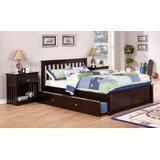 Discovery World Furniture Espresso Full Size Platform Bed   Cambridge   Viv Rae