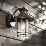 """Galt 11 1/4"""" High Bronze Motion Sensor Outdoor Wall Light"""