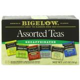 Bigelow Decaffeinated Assorted Teas, 18-Count Boxes (Pack of 6) by Bigelow Tea