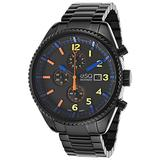 Esq Movado 7301452 Men's Catalyst Black Ion Plated Stainless Steel And Dial Watch