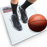 """StepNGrip Model Courtside Shoe Grip Traction Mat - Basic Model with Sticky Mat - Uses Replacement 15""""x 18"""" Sheets, Allows Court Grip for Basketball Volleyball. Sticky Stop Power."""