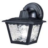 Westinghouse 66859 - 1 Light Black Wall Light Fixture