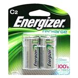 Energizer 01200 - 2 C Cell NiMH 2500mAh C2 Rechargeable Batteries (2 pack) (NH35BP-2)