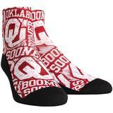 Oklahoma Sooners Rock Em Socks Youth Logo Sketch Crew