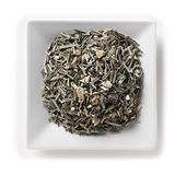 Mahamosa Herbal Flower Tea Blend and Tea Filter Set: 8 oz Ginger Lemongrass Spice Herbal Tea, 100 Loose Leaf Tea Filters (Bundle- 2 items)(Tea ingredients: Lemongrass, licorice roots, ginger pieces, peppermint, lemon peels, black pepper)