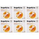 (6 PACK) - Dragonfly Tea - Vanilla Rooibos Tea , 40 Bag , 6 PACK BUNDLE