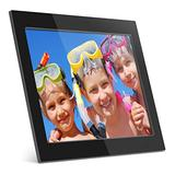 Aluratek (ADMPF315F) 15 Inch Digital Photo Frame - Black