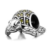 925 Sterling Silver Tortoise Charm Sea Turtle Charm Animal Charm Pet Charm Anniversary Charm Birthday Charm for Pandora Charms Bracelet (A)