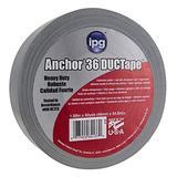 "IPG 4137 Heavy Duty AC36 DUCTape, 1.88"" x 60 yd, Silver"