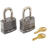 Master Lock 380T, 1-9/16 in. W, Black, 2 Piece