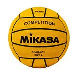 W5009 - Mikasa Sports Competition Women's Water Polo Ball , Yellow, Size 4