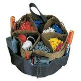 CLC Custom LeatherCraft 1148 Drawstring Bucket Bag, 18 Pocket