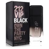 212 Vip Black For Men By Carolina Herrera Eau De Parfum Spray 3.4 Oz