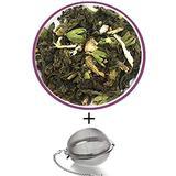 Nargis Ayurvedic Loose Leaf Cooling Tea/100% Natural Herbal Anti Oxidant Soothing Refresh Pitta Tea w/ Tulsi, Licorice, Ginger & Peppermint/Indian Organic Flavor Relax Tea, 35.37 oz