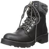 MIA Women's Maylynn Winter Boot, Black, 6 M US