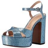 Marc Jacobs Women's Lust Platform Sandal, Light Blue, 36.5 EU/6.5 M US