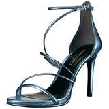 Kenneth Cole New York Women's Bryanna Strappy Dress Sandal, Light Blue, 7.5 M US