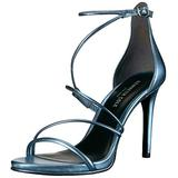 Kenneth Cole New York Women's Bryanna Strappy Dress Sandal, Light Blue, 6.5 M US