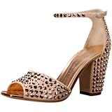 Giuseppe Zanotti Women's E70144 Dress Sandal, Shell, 9 M US