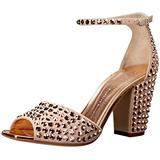 Giuseppe Zanotti Women's E70144 Dress Sandal, Shell, 8 M US