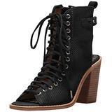 Dolce Vita Women's Loren Boot, Black Suede, 9.5 M US