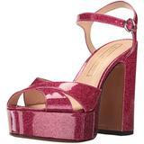 Marc Jacobs Women's Lust Platform Sandal, Pink, 39 EU/9 M US