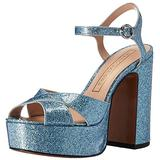 Marc Jacobs Women's Lust Platform Sandal, Light Blue, 35 EU/5 M US