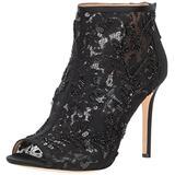 Badgley Mischka Women's Moyra Ankle Boot, Black, 5 M US