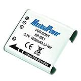 MaximalPower Replacement Li-ion Battery for SONY NP-BK1 Camera Batteries - Fully Decoded 3.7V 1000mAh Non-OEM Battery for Digital Photography