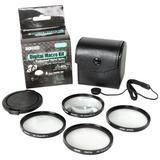 Bower FCC67C6 67mm 6-Piece Digital Macro Filter Kit