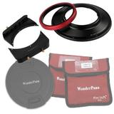 "WonderPana 66 FreeArc Kit - Rotating 145mm Filter System Holder, 6.6"" Filter Brackets and Lens Cap for The Canon 14mm Super Wide Angle EF f/2.8L II USM Lens (Full Frame 35mm)"