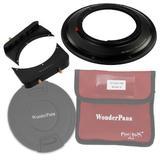 """WonderPana 66 FreeArc Kit - Rotating 145mm Filter System Holder, 6.6"""" Filter Brackets and Lens Cap for The Canon 17mm TS-E Super Wide Tilt/Shift f/4L (Full Frame 35mm)"""