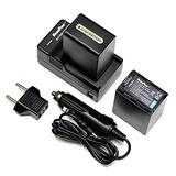 MaximalPower Replacement Li-ion Camera Battery and Charger For SONY NP-FH100 Camera - Fully Decoded Non-OEM 7.4V 1120mAh Battery for Digital Photography