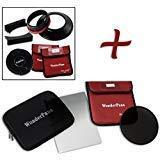 WonderPana FreeArc XL Essential ND32 0.6HE Kit - Core Filter Holder, Lens Cap, WP80 Brackets, 0.6 Hard Edge Grad ND & 186mm ND32 Filters for Canon EF 11-24mm f/4L USM Lens (Full Frame 35mm)