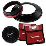 WonderPana FreeArc XL Core Filter Holder & Lens Cap Only for Canon EF 11-24mm f/4L USM Lens (Full Frame 35mm)