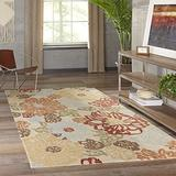 Momeni Rugs Tangier Collection, 100% Wool Hand Tufted Tip Sheared Transitional Area Rug, 5' x 8', Beige
