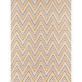 Momeni Rugs Geo Collection, Hand Hooked Contemporary Area Rug, 2' x 3', Orange
