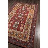 """Momeni Rugs Tangier Collection, 100% Wool Hand Tufted Tip Sheared Transitional Area Rug, 3'6"""" x 5'6"""", Red"""