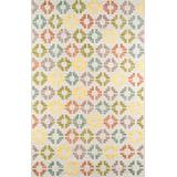 Momeni Area Rugs Boho Collection Contemporary Hand Woven Area Rug, 2' x 3', Ivory