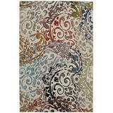 Mohawk Metropolitan Renne Multicolor Floral Woven Area Rug, 8'x11', Multicolor