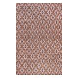 SUPERIOR Birmingham 5' x 8' Brown Rug, Contemporary Living Room & Bedroom Area Rug, Anti-Static and Water-Repellent, Hand-Woven Area Rug Featuring Canvas Backing, 5-feet by 8-feet