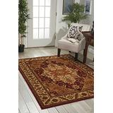 """Nourison Paramount Collection Gold Area Rug, 7 feet 10 Inches by 10 feet 6 Inches (7'10"""" x 10'6"""" )"""