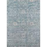 """Momeni Rugs Brooklyn Heights Collection Area Rug, 3'11"""" x 5'7"""", Blue"""