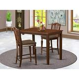 3 PC counter height set - counter height Table and 2 Kitchen Chairs.