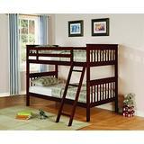 Coaster Home Furnishings Parker Slat Chestnut Twin BUNK Bed