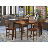 5 Pc Counter height Table set- pub Table and 4 counter height Chairs.