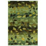 Mohawk Savannah Dappled Sea Floral Woven Area Rug, 5'3 x 7'10, Green and Yellow